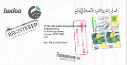38622. Carta Certificada Aerea KHARTUM (Sudan) 2008 To England - Sudan (1954-...)