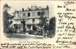 CPA Guernsey Kanalinseln, Hauteville House, Außenansicht - Other