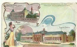Exposition Universelle Paris 1900 Grand Palais  Palais Navigation  Publicite Chromo Art Nouveau - Artis Historia