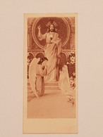 Carte Souvenir De La Première Communion Orphelinat Monaco 22 Mai 1942 - Religión & Esoterismo