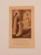 Carte Souvenir De La Première Communion Chapelle De L'hôpital De Monaco 1er Juin 1941 - Religión & Esoterismo