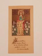 Carte Souvenir De La Première Communion Cathédrale De Monaco 22 Mai 1941 - Religión & Esoterismo