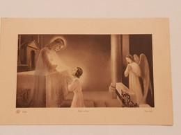 Carte Souvenir De La Première Communion Chapelle  De L'orphelinat De Monaco 18 Mai 1941 - Religión & Esoterismo