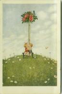 W.S.S.B. PUBLISHED 1910s POSTCARD - KIDS - N.5878 (BG999) - Andere Zeichner