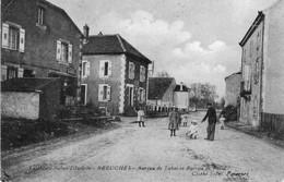 BREUCHES (Haute-Saône) - Bureau De Tabac Et Bureau De Poste. Cliché Siant. Circulée En 1911. Bon état. - Other Municipalities