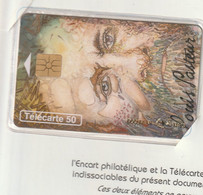 Telecarte Neuve CEF Avec Encart CEF 15 Pasteur - 50 Eenheden