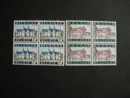 Belgique 1423/24** Bloc De 4. Ieper: Porte De Menin - Château De Spontin - Unused Stamps