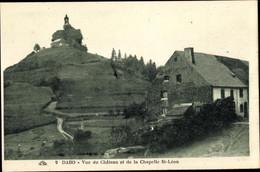 CPA Dabo Moselle, Vue Du Château Et De La Chapelle Saint Léon - Altri Comuni