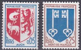 France TUC De 1966 YT 1468-1469 Neufs - Nuovi