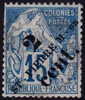 ✔️ St. Pierre Et Miquelon 1891/1892 - Dubois Avec Surcharge - Yv. 39 (o) - €15 - Usati