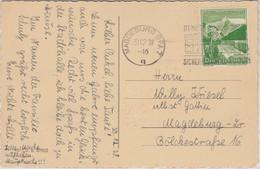 DR - 5 Pfg. WHW/Alpenblumen Ortskarte Magdeburg 1938 - Covers & Documents