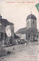 Cendrecourt-Rue De L'église-Battage à Vapeur - Otros Municipios