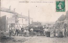 Cendrecourt-Rue Du Château-Battage à Vapeur - Otros Municipios