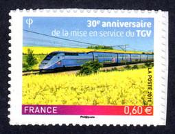 FRANCE 2011 - Autoadhésif Yvert N° 603 NEUF, TGV - KlebeBriefmarken