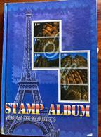 Timbres POSTE AERIENNE : France, Colonies Françaises, Espagne, USA ... - Verzamelingen (in Albums)
