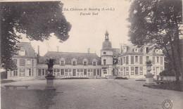 37. CERELLES .CPA. CHÂTEAU DE BAUDRY. FACADE SUD. ANNEE 1904 + TEXTE - Altri Comuni
