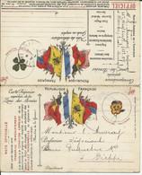 Carte Réponse Militaire De 1914 Pour Dieppe - Zonder Classificatie