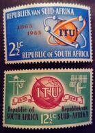 Afrique Du Sud RSA 1965 UIT ITU Communication Yvert 294-295 ** MNH - Neufs