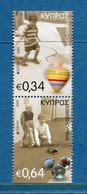 ⭐ Chypre - Europa - YT N° 1332 Et 1333 ** - Neuf Sans Charnière - 2015 ⭐ - 2015