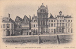 MECHELEN / OUDE HUIZEN AAN DE DIJLE / 1904 - Mechelen