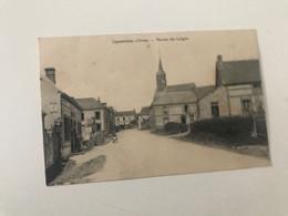 Carte Postale Ancienne (1940) LIGNEROLLES Route De Laigle - Other Municipalities