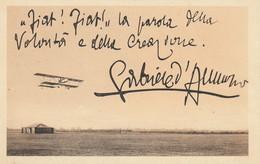 Aviazione - FIAT - Frase D'Annunzio - - 1919-1938: Between Wars