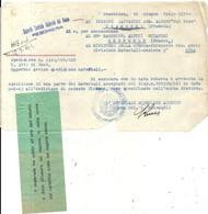 39/45. OCCUPATION ITALIENNE A SALANCHE . BATAILLON CHASSEURS ALPINS VAL TOCE . EXPEDITION DE MATERIEL - Documents