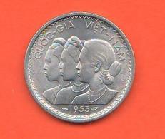 Vietnam 10 Su 1953 Rice Piant South Vietnam Alluminio Vietnamese Women - Vietnam
