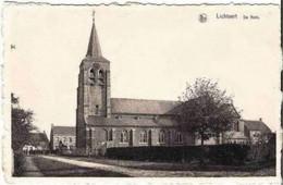 LICHTAERT-LICHTAART - De Kerk - Uitg. : L. Eelen-Nuyts, Leistraat, 56, Lichtaert - Kasterlee