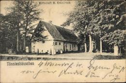 CPA Füchtorf Sassenberg Münsterland, Tönnishäuschen, Wirtschaft, Inh. W. Krambrock - Andere