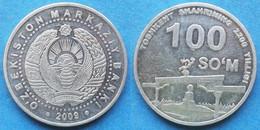 """UZBEKISTAN - 100 So'm 2009 """"Arch Of Independence"""" KM# 31 - Edelweiss Coins - Uzbekistan"""