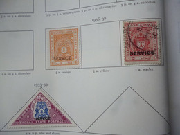 BHOPAL OFFICIAL KING GEORGE VI USED OR MH STAMPS - Ohne Zuordnung