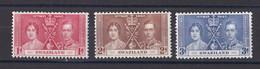 Swaziland 1937 Couronnement George VI  Neuf * - Swaziland (...-1967)