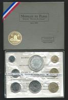 Monnaie Française Coffret FDC Fleurs De Coins Monnaie De Paris 1973 Dont 10 Francs Hercule Argent  Laupi 142 - Z. FDC