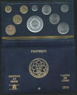 Monnaie Française Coffret FDC Fleurs De Coins Monnaie De Paris 1979 Dont 50 Francs Hercule Argent  Laupi 145 - Z. FDC