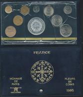 Monnaie Française Coffret FDC Fleurs De Coins Monnaie De Paris 1980 Dont 50 Francs Hercule Argent  Laupi 148 - Z. FDC