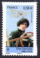 FRANCE 2010 - Autoadhésif Yvert N° 485 NEUF, Elise Deroche - KlebeBriefmarken