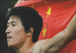 Liu Xiang, China, Athletics - Gold 2004 Athens Olympic Games - Modern Card From China (South China Morning Post) - Estate 2004: Atene