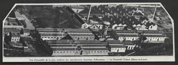 1935  --  LA PYRAMIDE TRELAZE . MANUFACTURE FRANCAISE D ALLUMETTES . 3U149 - Ohne Zuordnung
