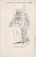 CPA  TOULOUSE  @ TOUR DE FRANCE 1914 @ - Autres Communes