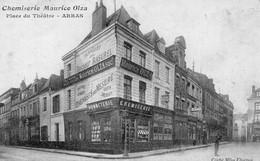 ARRAS - Place Du Théâtre - Chemiserie Maurice OLZA - Arras