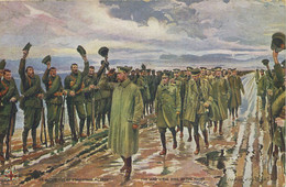 """MILITARY - THE KING AT THE FRONT By """"THE SPHERE"""" - Guerra 1939-45"""
