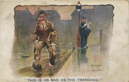 MILITARY COMIC - DUDLEY BUXTON - INTER-ART COMIQUE 1372 - Guerra 1914-18