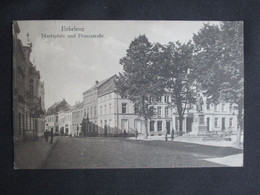 CPA ALLEMAGNE DEUTSCHLAND (V2029) ERKELENZ (2 Vues) Marktplatz Und Franzstrasse 1920 - Erkelenz
