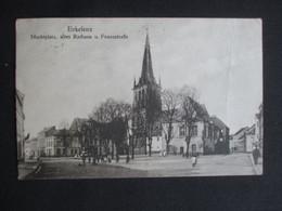 CPA ALLEMAGNE DEUTSCHLAND (V2029) ERKELENZ (2 Vues) Marktplatz, Altes Rathaus U. Franzstrasse 1920 - Erkelenz