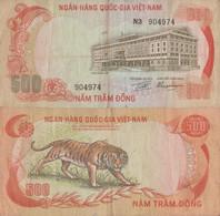 Viet Nam South / 500 Dông / 1972 / P-33(a) / VF - Vietnam