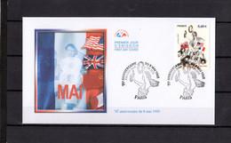 """"""" 70 ANS DU 8 MAI 1945 """" Sur Enveloppe 1er Jour De 2015. N° YT 4954 FDC - 2010-...."""