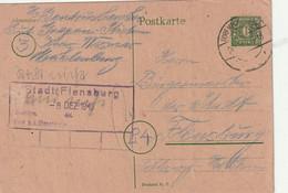 """SBZ - 1945 - Postkarte Mi. P 6d Stegstempel """"DORF MECKLENBURG"""" (D785) - Sovjetzone"""