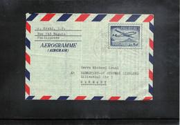 Philippines 1966 Interesting Aerogramme - Philippines