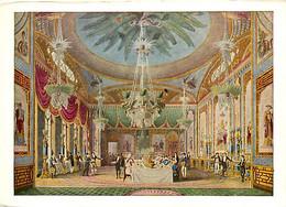 Art - Peinture - John Nash - The Royal Pavillon, Brighton : The Banqueting Room - Carte Neuve - CPM - Voir Scans Recto-V - Pintura & Cuadros